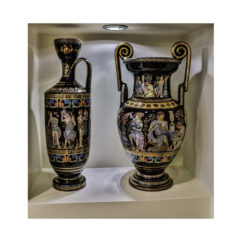 THE GODS OF OLYMPUS SET OF VASES (II)